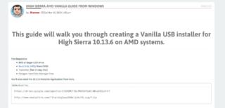 AMD Vanilla Clover Patch? - Seite 5 - macOS High Sierra
