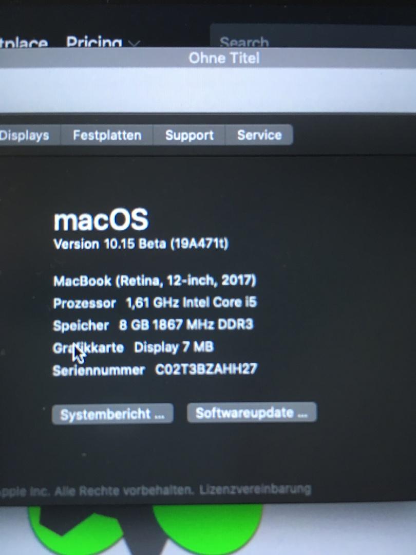 Hackintosh Intel Graphics 7mb