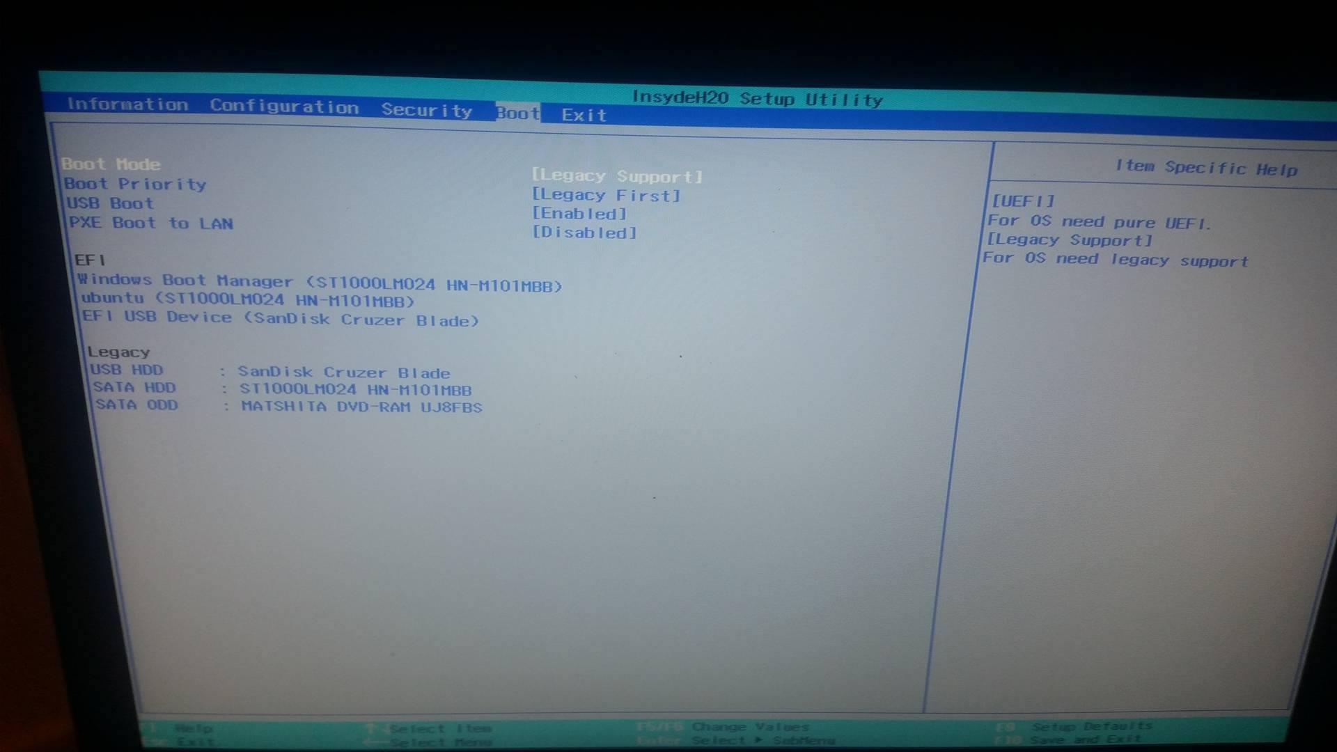 need help in installation el capitan on lenovo g 50 - OS X El