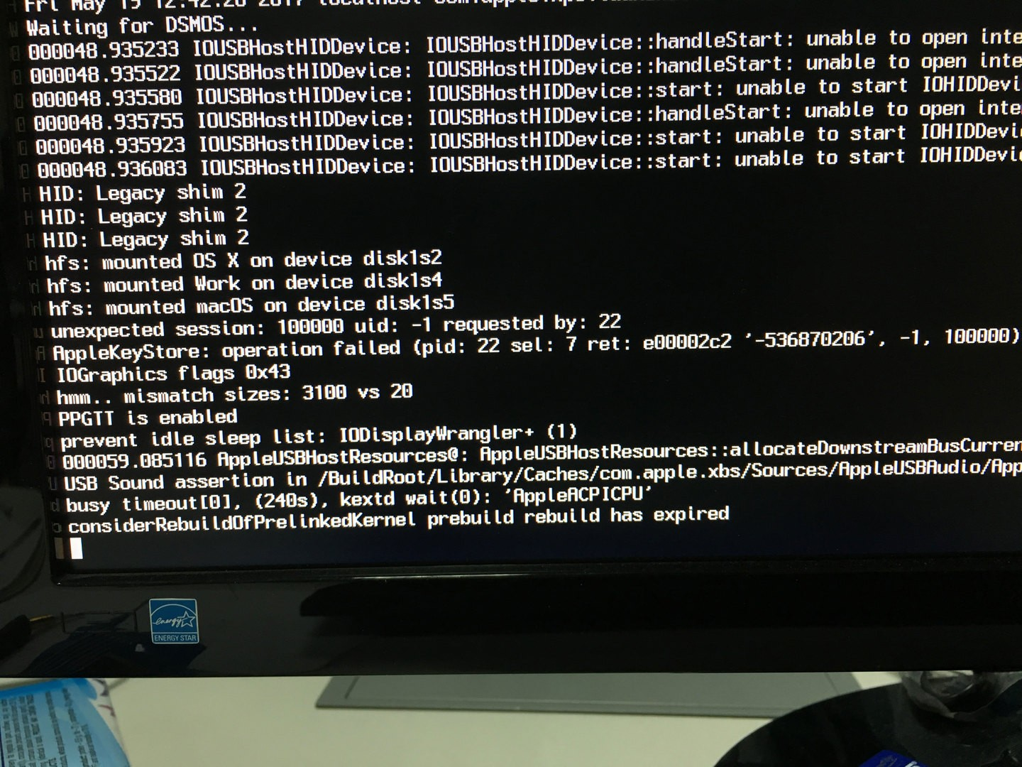 Ozmosis problem with ASUS H97M-E and macOS Sierra - Ozmosis BIOS