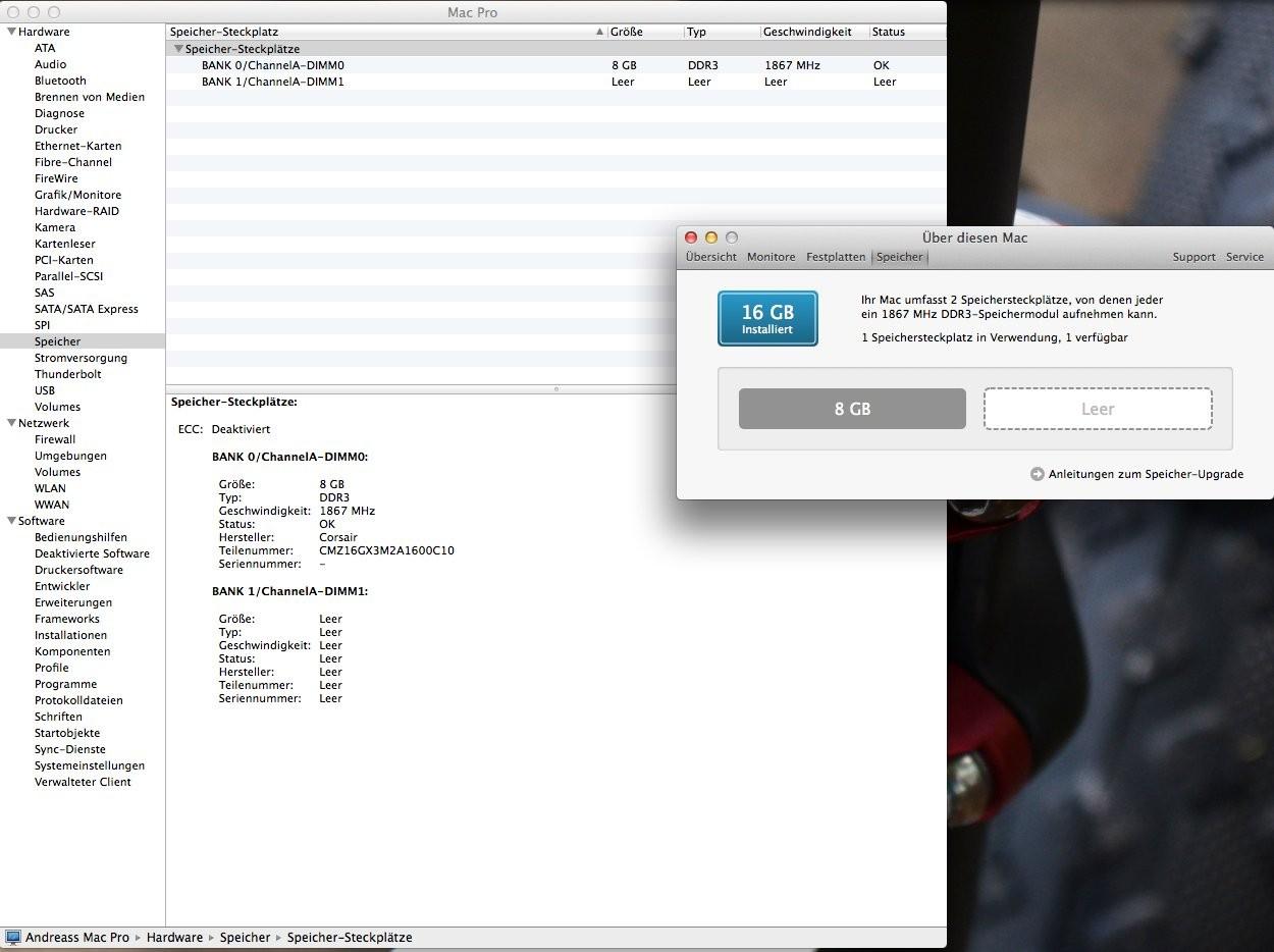 Ozmosis erkennt RAM falsch - Ozmosis BIOS Mods - Hackintosh